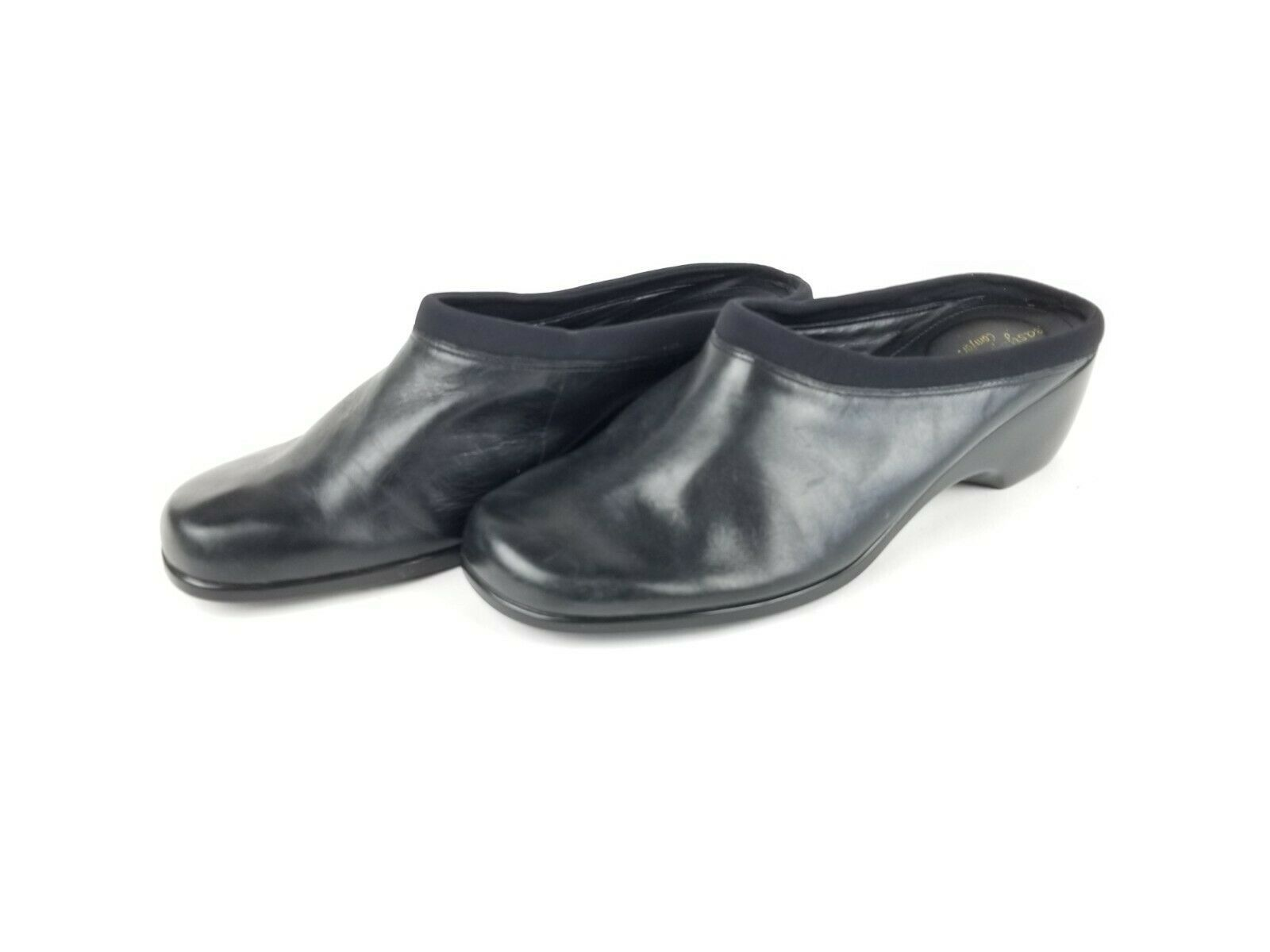 EAST SPIRIT Womens Black Leather Slip On Shoe - 0305 - Size 8.5 - Free Shipping - $48.31 CAD