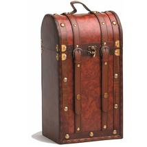 Wood Wine Boxes, Display Luxury Decorative Red Wine Bottle Gift Box Storage - $63.99