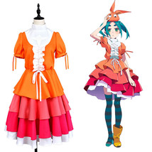 Monogatari Series Ononoki Yotsugi Nisemonogatari Gown Dress Cosplay Costume Suit - $61.19+