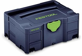 Festool 204534 Limited Edition Blue Systainer 2 - $76.81
