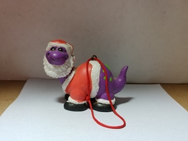 House of Lloyd Santa Brontosaurus Dino Holidays Ornament - $6.50