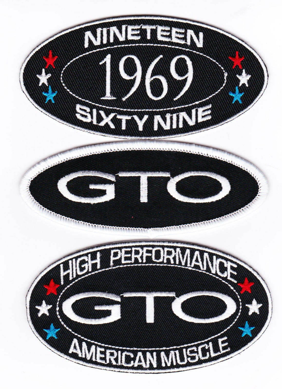 1974 SEW//IRON ON PATCH EMBROIDERED BADGE EMBLEM CHEVROLET FORD DODGE PONTIAC