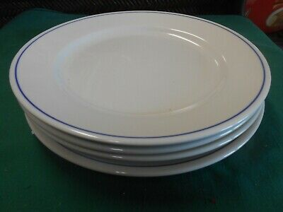 "Beautiful HOMER LAUGHLIN ""Best China""  Set of 4 DINNER Plates"