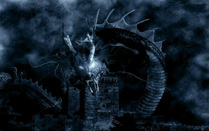 Haunted True Blue Guardian - Dragons Rise of Heroes Dragons of Imperishability