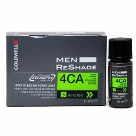 Goldwell USA Men ReShade - Gray Blending 4CA Cool Ash Mid Brown  ( 4 X 20ml )