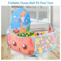 Portable Baby Playpen Children Outdoor Indoor Ball Pool Play Tent Kids Safe - $20.15