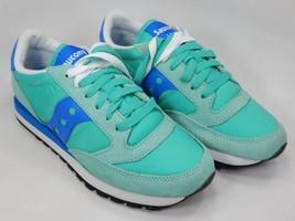 Saucony Jazz O Original S1044-363 Women's Running Shoes Size 7 M (B) EU 38 Green