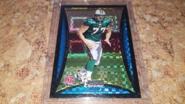 Jake Long Rookie Prism Refractor Serial #'d 105/250 2008 Bowman Chrome Dolphins - $9.85