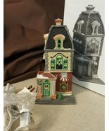 Dept 56 Christmas In The City Lighted 1992 HABERDASHERY 55310 Retired 1996 - $19.95