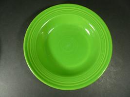 """FIESTAWARE Homer Laughlin SHAMROCK Rimmed Soup or Salad Bowl 9"""" - $16.00"""