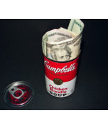Secret Money Cheap-O SAFE Campbell's Chicken Noodle Soup Can Subterfuge ... - $9.99
