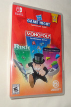 Hasbro Game Night - Nintendo Switch MONOPOLY, RISK, TRIVIAL PURSUIT   - $24.50
