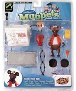 Palisades The Muppets Series 4 Action Figure Rizzo Red Jacket - $83.66