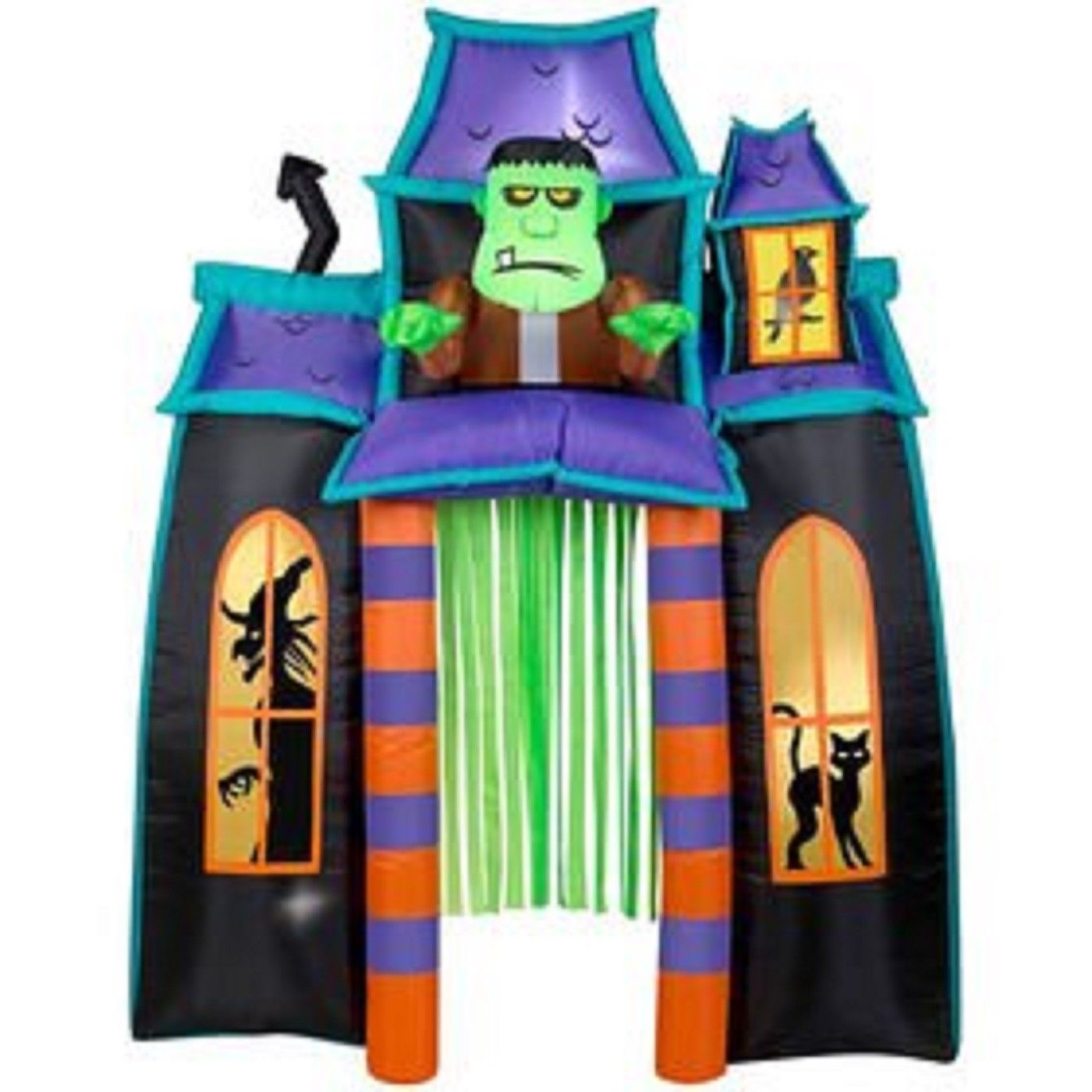 9' Animated Frankenstein Monster Haunted House Archway Airblown Inflatable