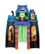 9' Animated Frankenstein Monster Haunted House Archway Airblown Inflatable  - $165.07
