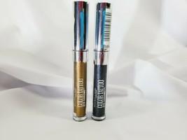 Maybelline Color Tattoo Eye Chrome Eyeshadow Bronze Sheen & Gunmetal - $9.45