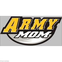 Army Mom Military Yellow Black Window Sticker Decal - $13.53