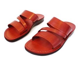 Leather Sandals for Men GREECE by SANDALIM Biblical Greek Jesus Sandals ... - $39.44 CAD+