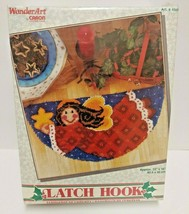 "Caron WonderArt Latch Hook Kit 4660 Star Angel 33"" x 16"" - $28.04"