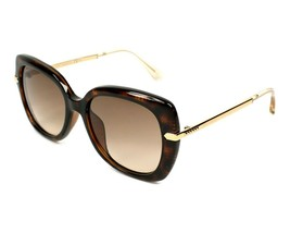 Jimmy Choo Ludi/S N0K Women Sunglasses Havana/Rose Gold Brown Gradient NEW 53mm - $115.94