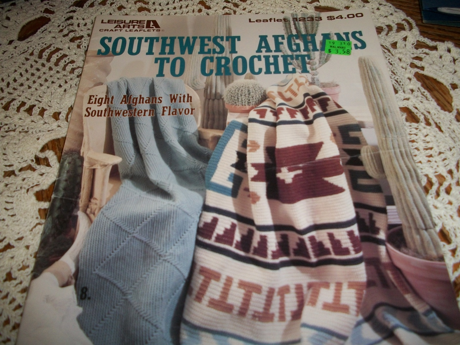 Primary image for Southwest Afghans To Crochet Leaflet 1233