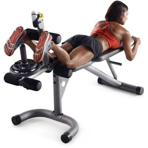 Home Exercise Equipment Machine Gym Station Total Body Workout Bench Adjustable