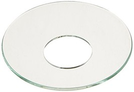 Biedermann & Sons Glass Bobeches, Clear, 12-Count, Piece - $18.88