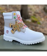 "Timberland Women's Premium 6"" White Leather Boots A1U67 Limited Edition - $169.99"