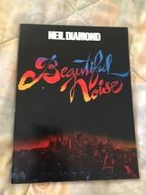 Vintage Neil Diamond Beautiful Rumore Musica Canzone Libro 1976 Brossura - $11.13
