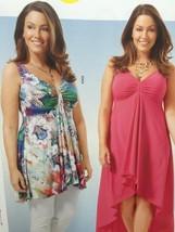Burda Sewing Pattern 6674 Misses Ladies Dress Shirt Size 18-30 New - $13.43