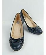 LIFE STRIDE Velocity Memory Foam Women's Shoes Black 8.5 M Heels Pumps S... - $39.00