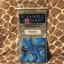 Vintage NOS B.Dazzle Scramble Squares Puzzle Whales - 1994 - $12.00