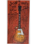 """Jason Isbell's """"Red Eye"""" 12"""" X 6-1/4"""" Promo Poster single-sided, new - $29.95"""