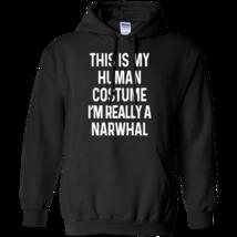 Funny Narwhal Costume Shirt Halloween Men Women Kids - ₹2,863.68 INR+