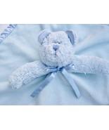 Boyds Bear Blue Lovey Soother Security Blanket Binkie NuNu Satin Heart P... - $25.00