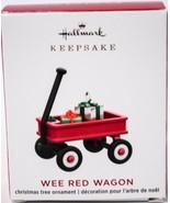 Hallmark  Wee Red Wagon  Miniature  Keepsake Ornament 2020 - $13.85
