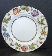 "Eight Royal Worcester 6"" Bread and Butter Plates  - Virginia Pattern - $47.49"