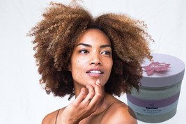 100% Chebe hair growth butter with Karkar oil and boosting herbs 250ml  - $34.00