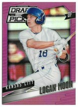 2014 Logan Moon Panini Prizm Draft Picks Rookie Purple Refractor 014/149 Royals - $1.89