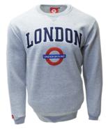TFL™201 Licensed Unisex London Applique Underground™ Sweatshirt Sports Grey - $29.99