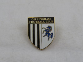 Vintage British Soccer Pin - Gillingham Football Club -Team Crest - Inla... - $15.00