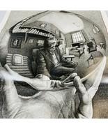 """M.C. Escher Self Portrait Buffalo Games 1000 Piece Puzzle 26.75""""x19.75"""" ... - $21.77"""
