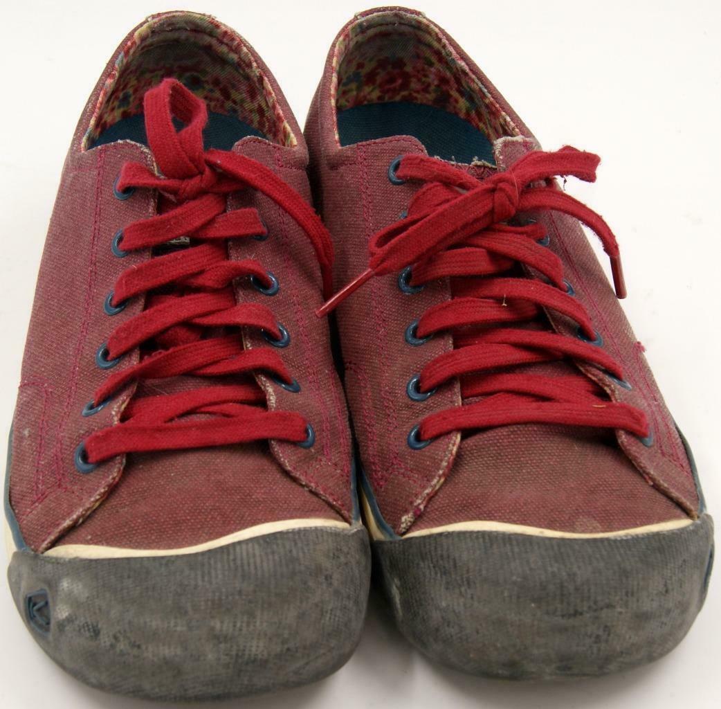 Keen Coronado Red Dahlia Women's Lace Up Shoes Sz 9.5 M image 4