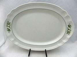 "Pfaltzgraff Christmas Heirloom - Oval Platter - 14 3/4"" long - EUC - Disc. 1993 - $23.27"