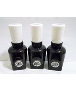 LOT OF (3)  Sally Hansen Miracle Gel Nail Color, Top Coat #101 New! Full... - $11.95