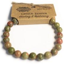 Power Bracelets Green Jasper x 2 + 1 Free Bracelet - $17.60