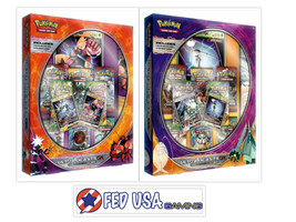 Pokemon Ultra Beasts Premium Collection Boxes Set of 2 Buzzwole & Pherom... - $89.99