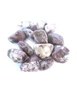 *THREE* Pink Tourmaline Tumbled Stone 40-45mm QTY3 Healing Crystal Heart... - $15.65