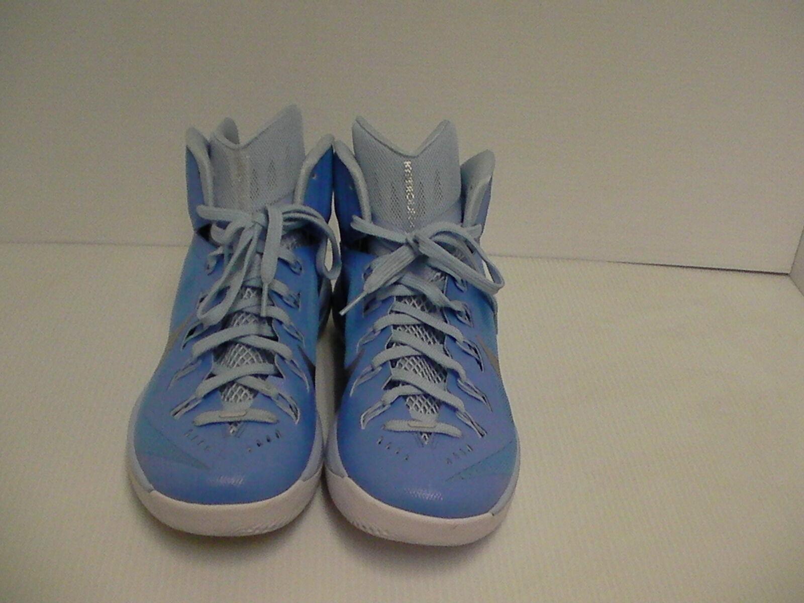 Nike hyperdunk men shoes basketball blue silver size 10