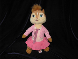 ALVIN & THE CHIPMUNKS GIRL PINK BRITTANY 2010 STUFFED PLUSH TY BEANIE BA... - $15.83